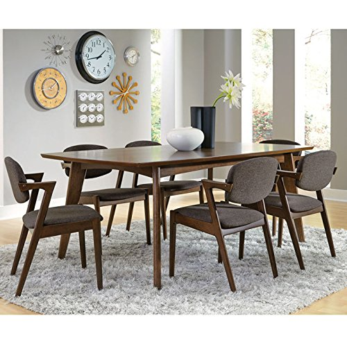 Coaster 105351 Home Furnishings Dining Table, Dark Walnut