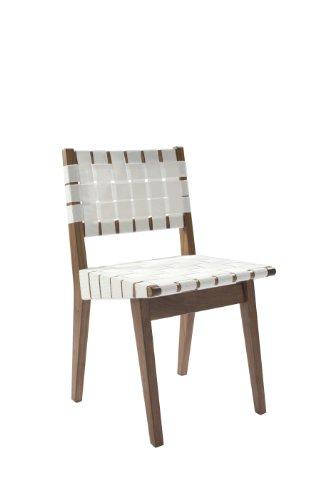 Control Brand Minimalist Side Chair, White