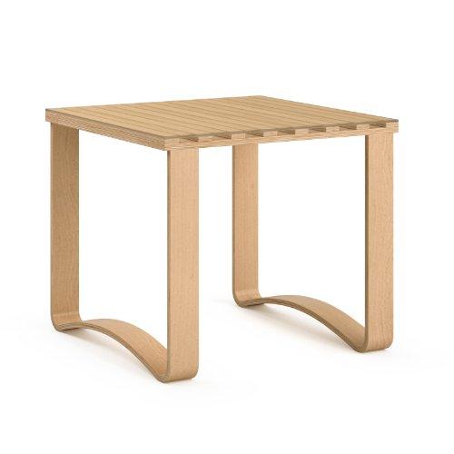 CorLiving LCQ-867-E Aquios Bentwood Contemporary End Table