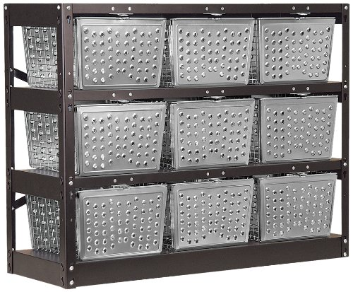 Salsbury Industries 77709-U Unassembled Basket Locker