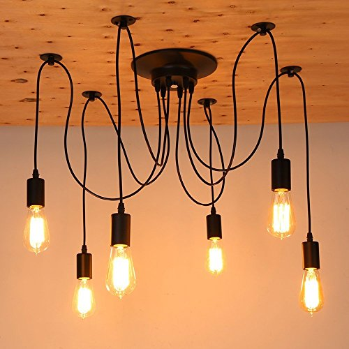 StillCool Vintage Retro Chandeliers Farmhouse Antique Ceiling Lights Fixtures Lighting without Bulb