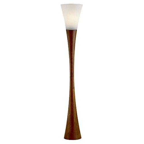 Adesso Espresso Torchierie Floor Lamp