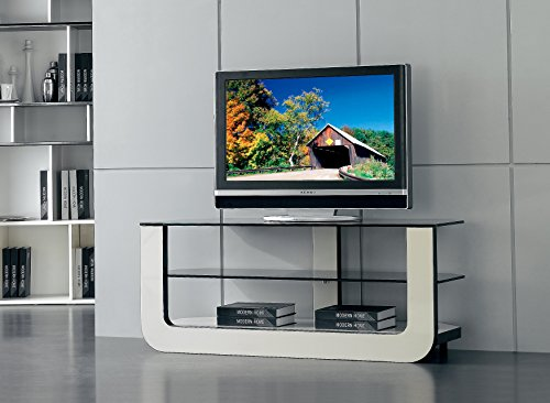 At Home USA, Faro White Tv Stand, SKUTV70105