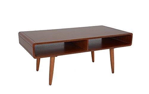 boraam 32211 zebra series halmstad coffee table rich walnut hour modern. Black Bedroom Furniture Sets. Home Design Ideas