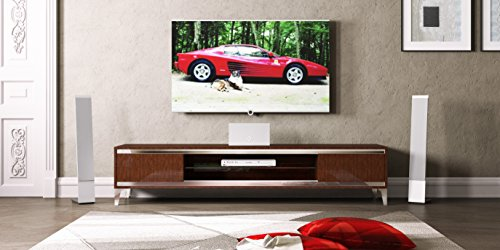 CAPRICE-WALNUT-TV STAND