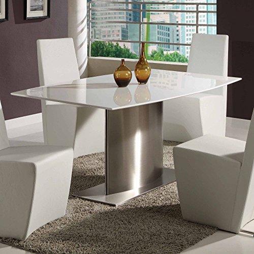 Creative Images International Paula Dining Table – White