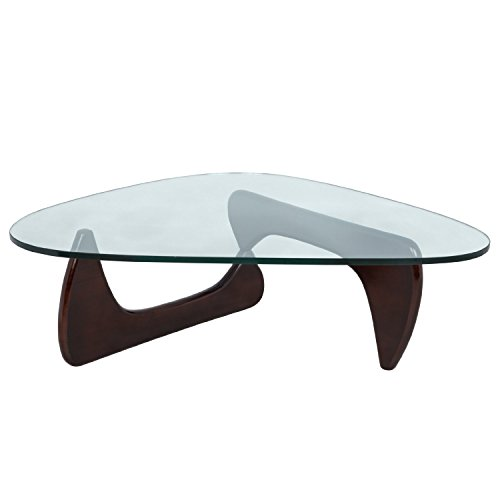 Leisuremod Imperial Triangle Coffee Table Hour Modern